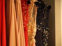 Vestidos acabados en la tienda