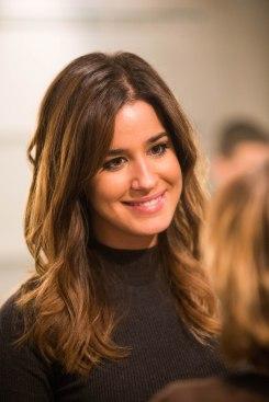 La guapa periodista Isabel Jiménez
