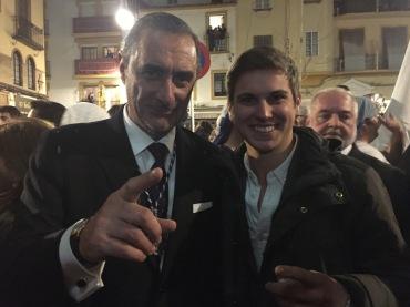 Con el gran Carlos Herrera